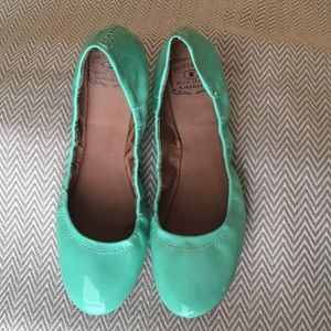 New mint green flats!
